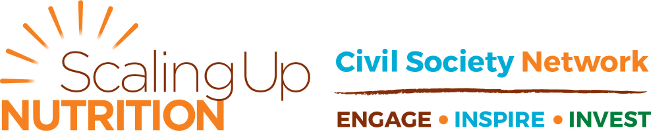 Scaling Up Nutrition – Civil Society Network. Engage, Inspire, Invest